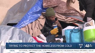 Working to protect the homeless from cold