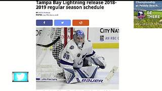 Tampa Bay Lightning release 2018-2019 regular season schedule - Video
