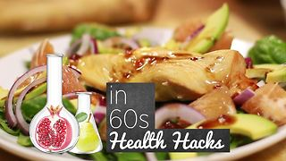 How to Health Hacks: Chicken with Raspberry Glaze - Video