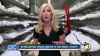 Drug deaths on the rise in San Diego - Video