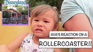 2-Year-Old's First Roller Coaster Ride Makes for Brilliant Viewing - Video