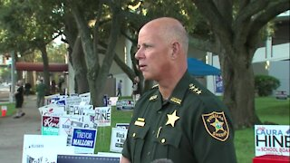 Pinellas Sheriff on voter intimidation incident