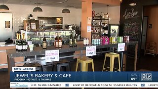 We're Open Arizona: Jewel's Bakery and Cafe opening daily to serve you