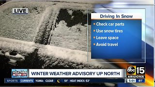 Be prepared for snow, winter weather in the high country