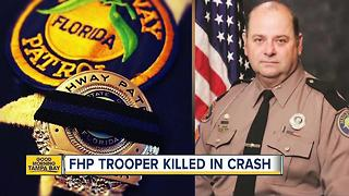 Florida Highway Patrol trooper hit, killed on I-75 in Alachua County - Video