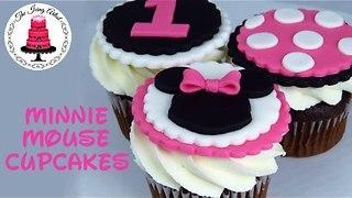 Minnie Mouse Cupcake Toppers - How To With The Icing Artist The Icing Artist - Video