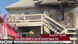 4 sisters killed, mother, two officers injured in Carroll County house fire - Video