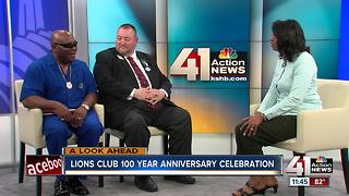 Lions Club 100 years - Interview with Cynthia Newsome - Video