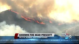 Updates on wildfires in Arizona - Video