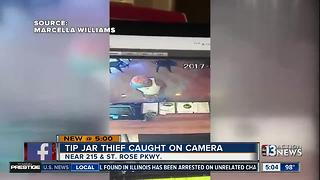 Another tip jar thief caught on camera - Video