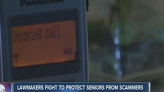 Lawmakers fight to protect seniors from scammers - Video