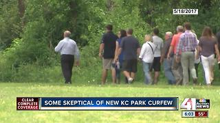 Impact of new curfew for KC trails, parks - Video
