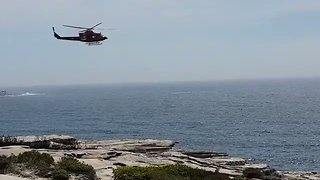 First Responders Rush to Kurnell After Boat Capsizes - Video