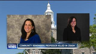 UB remembers professor killed in Thruway crash - Video