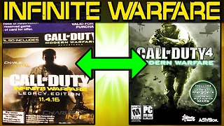 Call of Duty 'Infinite Warfare' legacy edition leaks