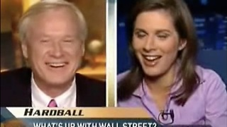 Remember When Chris Matthews Awkward Moment ON-AIR Of Erin Burnett - Video