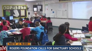 Rogers Foundation wants CCSD schools to be sanctuary schools - Video