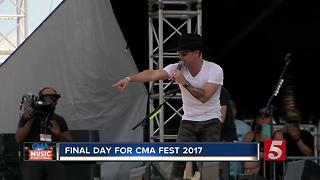 Final Day Of CMA Fest 2017 Hits Downtown - Video