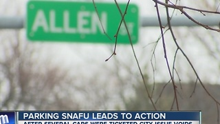 Parking snafu leads to action - Video