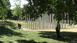 12th anniversary of 7/7 bombing is marked in Hyde Park - Video