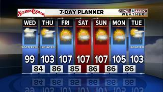 13 First Alert Weather for July 19 2017 - Video
