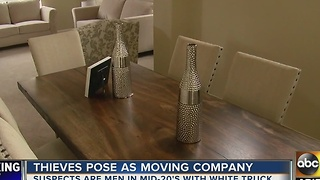 Fake movers steal furniture from Glendale home for sale - Video