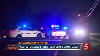 Woman Reports Stolen Vehicle Before Chase, Crash - Video