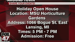 Around Town 11/28/16: MSU Horticulture Garden hosts open house - Video