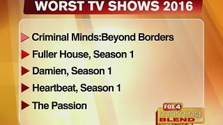 Worst Shows of 2016 12/14/16 - Video