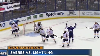 Ondrej Palat scores two goals as the Tampa Bay Lightning top the Buffalo Sabres 4-2 - Video