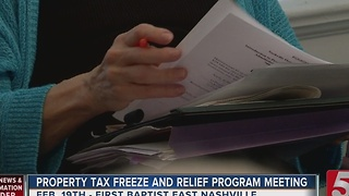 Meeting Held On Property Tax Increases - Video