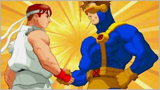 X-Men vs. Street Fighter - PlayStation