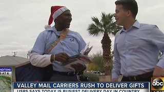 ABC15 does UPS ride-along during holiday season - Video