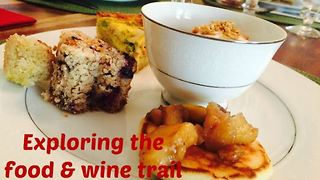 Exploring 7 places in the food & wine trail of Burke County - Video