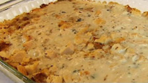 Betty's easiest-ever turkey and dressing casserole