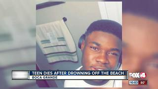 Teen Dies After Drowning off Boca Grande Beach - Video