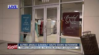 Alfred Angelo Bridal suddenly closing stores nationwide - Video