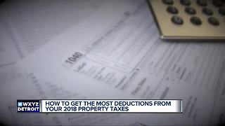 How to get the most deductions from your 2018 property taxes - Video