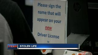 Accused identity thief done in by own driver's license - Video