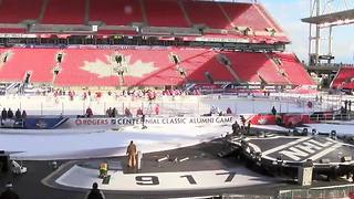 Red Wings soak in latest outdoor chapter in NHL history, ahead of Centennial Classic - Video