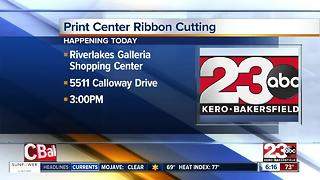 Local business owners opened full-service print shop in Riverlakes Galleria Shopping Center - Video