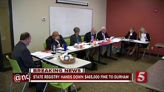 Tenn. Campaign Finance Panel Fines Durham $465K - Video
