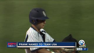 Tyler Frank Named To team USA - Video