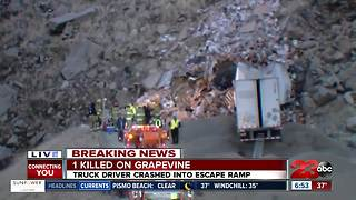 Deadly crash South of Grapevine Rd. - Video