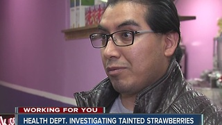Restaurant owners said they didn't know about contaminated strawberries - Video