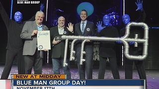 Blue Man Group given key to Las Vegas Strip - Video