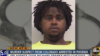 Man arrested in Phoenix for alleged murder in Colorado - Video
