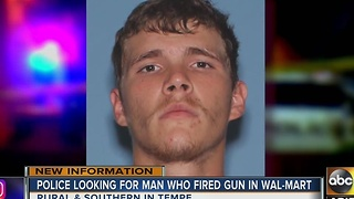 Police searching for alleged gunman in Tempe - Video