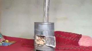 Lazy man's way to light a charcoal chimney - Video