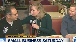 Eateries offering discounts for Small Business Saturday - Video